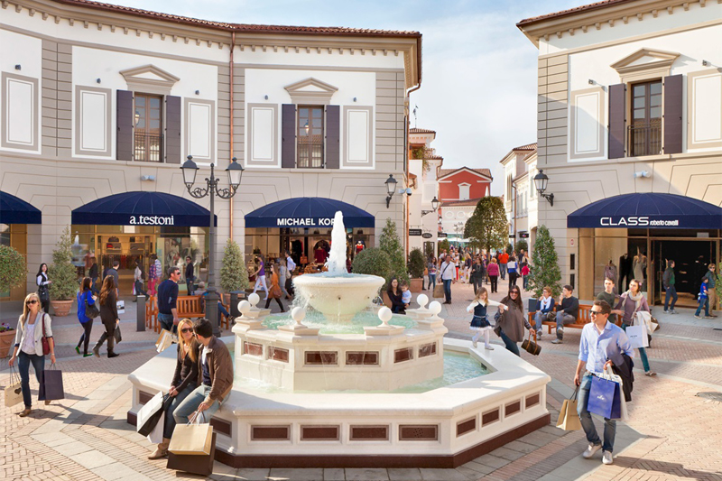 Outlets in Italy on the map. Aosta Outlet. Modena Outlet. Addresses ...