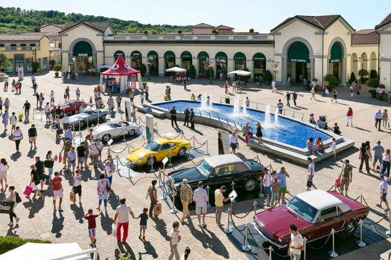Outlet in Italy, Serravalle Designer Outlet, for shopping. Its ...