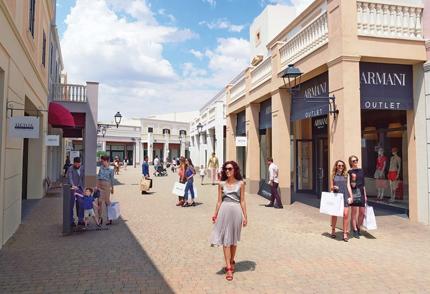 Outlet in Italy, Sicilia Outlet Village, for shopping. Its location ...