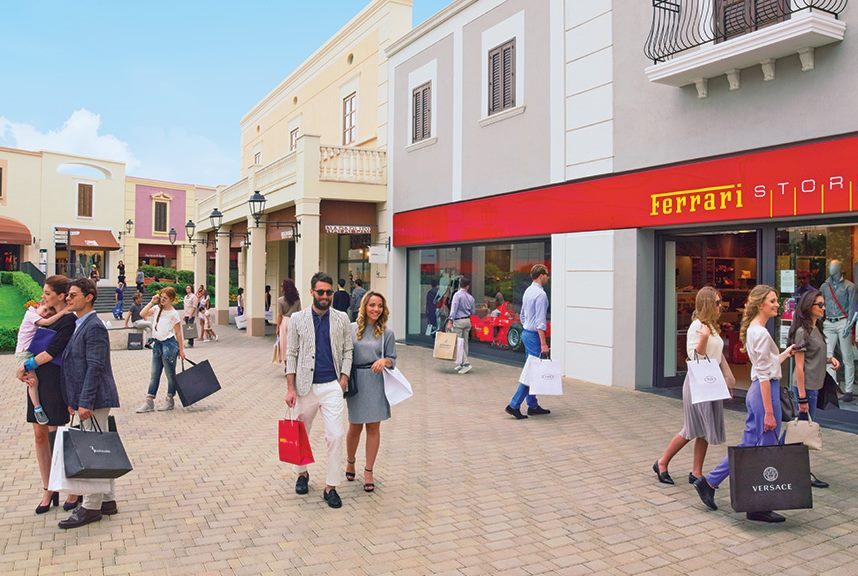 Outlet in Italy, Sicilia Outlet Village, for shopping. Its ...