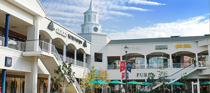 Outlet in Japan, Rinku Premium Outlet, for shopping. Its location on ...